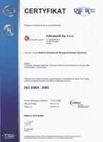 Certyfikat ISO 22 000